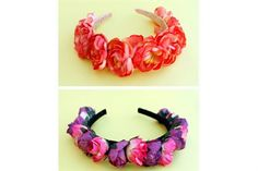 Crochet Necklace, Diy, Jewelry, Parties, Fashion, Flower Crowns, Fabric Flowers, Sewing, Fascinators