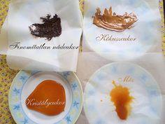 A nagy karamell-teszt Napkins, Pudding, Breakfast, Tableware, Desserts, Food, Caramel, Morning Coffee, Tailgate Desserts