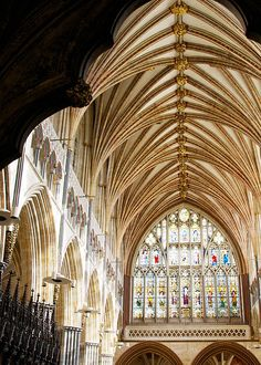 Exeter Cathedral, the Cathedral Church of Saint Peter at Exeter, South West England by archidave