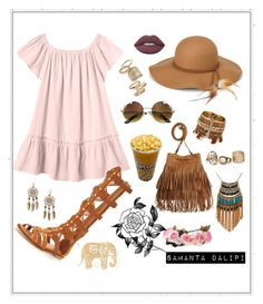 """""""Untitled #212"""" by samantadalipi on Polyvore featuring Rebecca Taylor, KG Kurt Geiger, Steve Madden, Lime Crime, Topshop, Boohoo, Leslie Danzis and Forever 21"""
