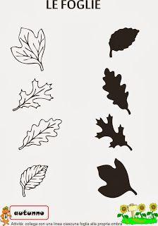 A Scuola con Poldo: Schede didattiche sull'autunno Printable Preschool Worksheets, Worksheets For Kids, Kindergarten Writing, Kindergarten Worksheets, Fall Preschool, Preschool Crafts, Autumn Activities, Activities For Kids, Toddler Crafts