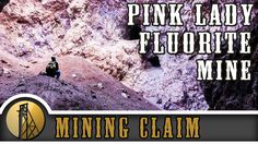 The Pink Lady Fluorite Mine - Utah - Gold Rush Expeditions - 2015