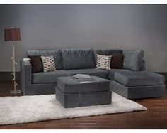 I love that you can change the position of the lovesac sectionals. So awesome.