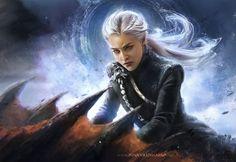 Perfect fanart of Daenerys Targaryen from HBO Game of Thrones done by artist Inna Vjuzhanina Art Daenerys Targaryen Art, Game Of Throne Daenerys, Khaleesi, Arte Game Of Thrones, Game Of Thrones Gifts, Jon Snow, Game Of Thones, Got Characters, Got Memes