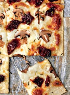 Ridiculously easy mealie-meal pizza base