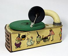 Vintage Toy Phonograph