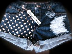 Love these studded shorts!