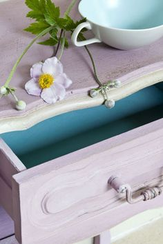 Annie Sloan is a genius!  Her chalk paints will transform any piece of furniture with NO stripping.  I can't wait to get my hands on about a billion colors!