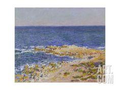 La Grande Bleue a Antibes, 1888 Giclee Print by Claude Monet at Art.com
