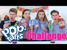 EXTREME Pop Tarts Challenge ft. Collins Key | Vlogmas Day 2 | Brooklyn and Bailey - YouTube