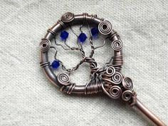 http://www.jewelrylessons.com/gallery/tree-hairpin