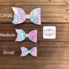 Best 12 Excited to share the latest addition to my shop: Mermaid Hair Bow – Mermaid Hair Clip Making Hair Bows, Diy Hair Bows, Diy Bow, Bow Hair Clips, Bow Clip, Ribbon Hair, Bow Template, Bow Pattern, Elastic Headbands