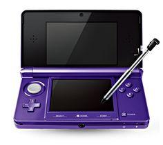 Nintendo 3ds in purple!