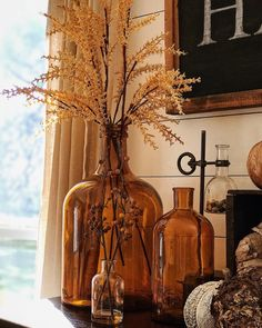Fall neutral farmhouse home interior decor. Fall Home Decor, Autumn Home, Autumn Decor Living Room, Modern Fall Decor, Seasonal Decor, Holiday Decor, Fall Decorations, Thanksgiving Decorations, Home And Deco