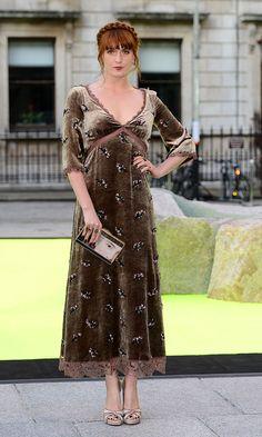Las mejor vestidas de la semana - Florence Welch
