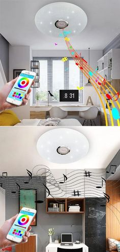Item Type: Ceiling Lights Is Bulbs Included: Yes Light Source: LED Bulbs Power Source: AC Voltage: 110V-240V Body Material: Ironware + Acrylic Install Style: Surface mounted Style: Modern Base Type: BA15d Material: Metal Number of light sources: 15~20 Switch Type: Touch On/Off Switch Application: Foyer Application: Kitchen Application: Bed Room Application: Dining Room Application: Study Lighting Area: 15-30square meters Technics: Painted Warranty: 1 year Finish: Iron Is Dimmable: Yes