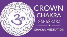 Crown Chakra Healing Music - Unblock Crown Chakra with Beej Mantra Chant... Chakra Healing Music, Chakra Meditation, Om Mantra, Hindu Mantras, Music Heals, Crown Chakra, Awakening, Brain, The Brain