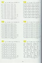 262 patrones crochet by karmittarte - issuu Crochet Stitches Chart, Crochet Motifs, Crochet Diagram, Crochet Blanket Patterns, Knitting Stitches, Crochet Doilies, Crochet Lace, Stitch Patterns, Knitting Patterns