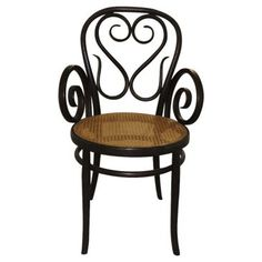 Check out this item at One Kings Lane! Italian Bentwood Chair w/ Cane Seat
