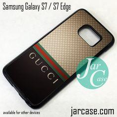 6611f307dd3 Gucci Pattern Phone Case for Samsung Galaxy S7   S7 Edge
