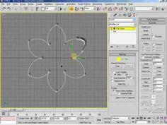 3DsMax5   06강 스플라인 수정방법