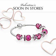 We're loving Pandora's sneak peaks of the new valentines collection! #pandora - Shop now > http://ift.tt/1Ja6lvu