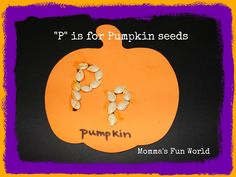 Momma's Fun World: P is for Pumpkin