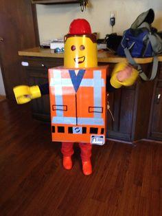 Emmet Lego costume