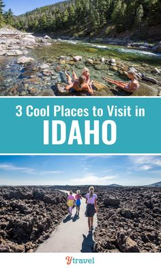 Planning to visit Idaho? Here are 3 amazing places to visit in Idaho for your next family road trip. An Idaho vacation can be filled with wonder, education, and fun! #Idaho #travel #roadtrips #vacations #Idahotravel #familytravel