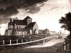 Nidarosdomen - ca 1820
