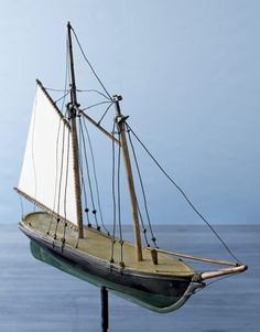 Wooden Ship Weather Vane