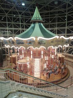 I'm not sure how many trips Mom took to Lynnhaven Mall, but it was a lot!  I loved seeing the carousel and the big, glass windows.  I have fond memories of shopping with Mom at Lynnhaven Mall.  Sadly, the carousel is no longer there.
