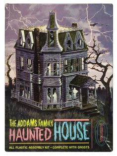 The Addams Family Haunted House model