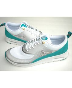 new concept 87e61 e53ed Air Max Thea Metallic Silver White Turbo Green Womens Nike Air Max Sale,