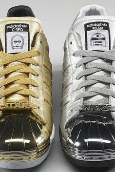 d5c527487 Adidas Star Wars Trainers 2015  C-3PO and R2-D2 Shoes Have Just