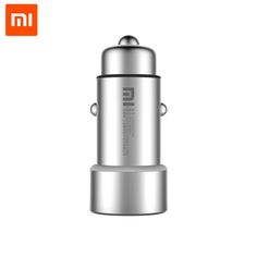 >> Click to Buy << 100% Original Xiaomi Mi Car Charger Dual USB 5V/3.6A Quick Charge Metal Apply to Android IOS System Mobile Phones Tablet #Affiliate