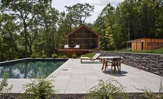 New York firm Lang Architecture is the latest design practice to dabble in property development, aiming to break into the scene with theirnewest venture;Hudson WoodsDevelopmentconsistsof 26 homes located throughout a plot of 131 acres. The cabins,...