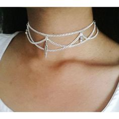 Layla feather lilac choker chain handmade bohemian ($11) ❤ liked on Polyvore featuring jewelry, necklaces, chain choker necklace, chain choker, boho jewelry, bohemian necklace and silver plated jewelry