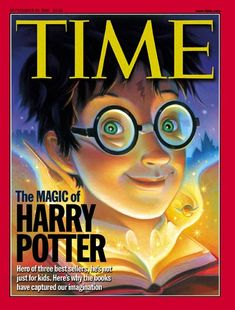 Harry on the cover of Time Magazine--I remember reading this right after the Prisoner of Azkaban came out!