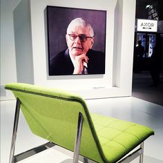 The man, the myth, the legend: Charles Pollock for Bernhardt Design. #icff #design