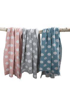 Luna Ninos Cotton Spot Blankets