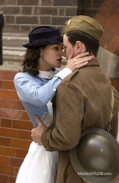 Atonement (2007). Keira Knightley and James McAvoy
