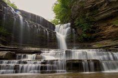 Piccoli paradisi terrestri: le piscine naturali più belle    Cummins Falls State Park , Cookeville, Tennessee