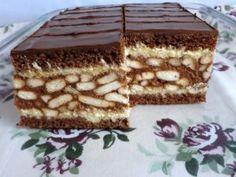 My Recipes, Sweet Recipes, Dessert Recipes, Cooking Recipes, Cake Bars, Sweet Cookies, Cake Cookies, Hungarian Recipes, Hungarian Food