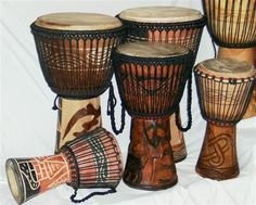 Djembes tradicionales