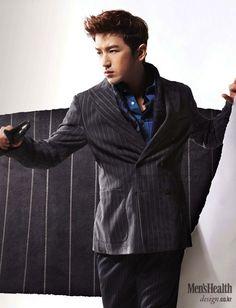 Lee Minwoo Suits up for Men's Health