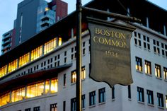 Boston Commons Sign Suffolk Law School by MTReillyPhotography, $15.00