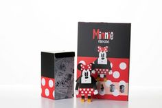 Geekstra.com'dan MOMOT Disney Paper Toyz! Minnie Mouse