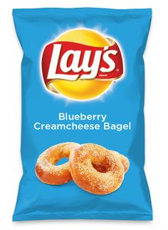 Wouldn't Blueberry Creamcheese Bagel be yummy as a chip? Lay's Do Us A Flavor is back, and the search is on for the yummiest flavor idea. Create a flavor, choose a chip and you could win $1 million! https://www.dousaflavor.com See Rules.