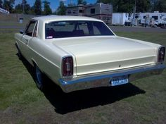 '66 Ford Fairlane FX altered wheelbase (veiw from a Dodge)